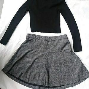 Banana Republic Tweed circle/skater skirt